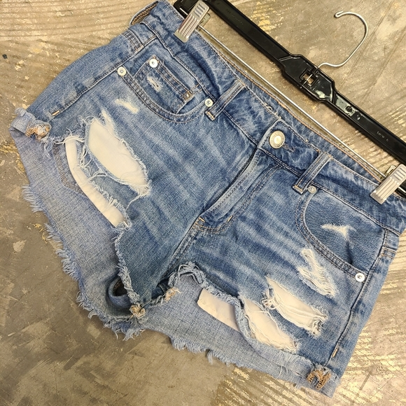 American Eagle Outfitters Pants - American Eagle Distressed Denim Shorts